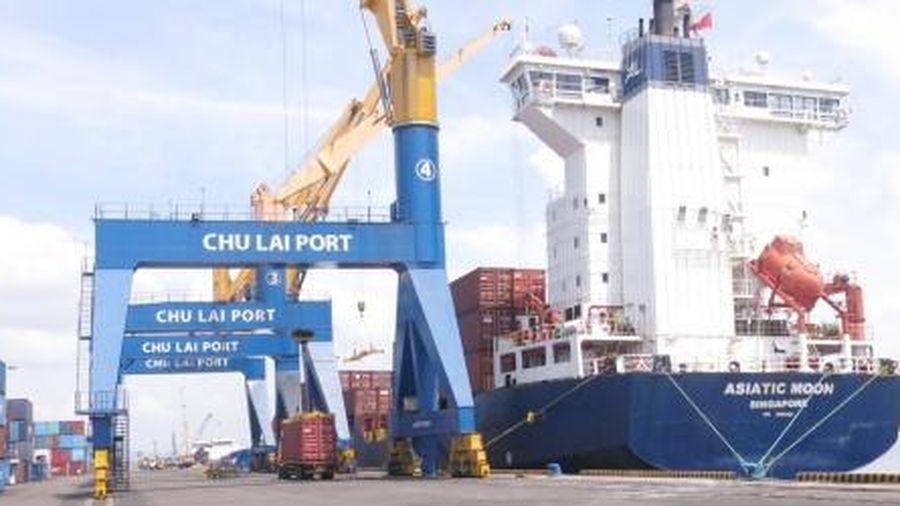 Cho phép cầu cảng số 1 - Bến cảng Chu Lai khai thác hàng container trong 3 năm