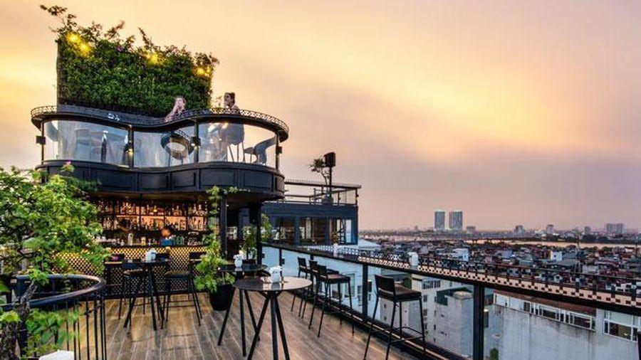Khách sạn ở Hà Nội đứng đầu hạng mục khách sạn có tầng thượng đẹp nhất thế giới