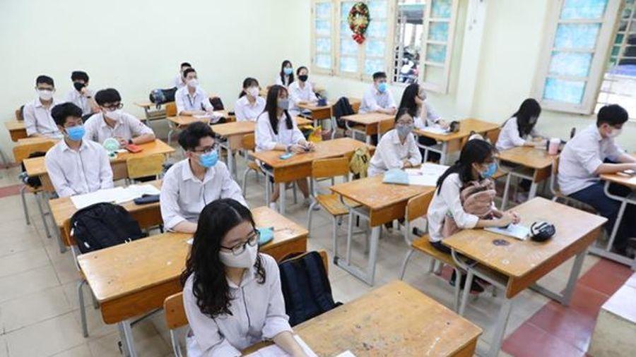 Hà Nội: Giữ nguyên số môn thi và ngày thi tuyển sinh vào lớp 10.