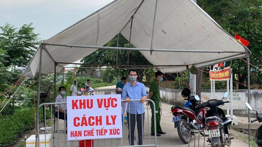 Huyện Thường Tín: 211 mẫu xét nghiệm các tổ bầu cử tại 3 ổ dịch đều âm tính