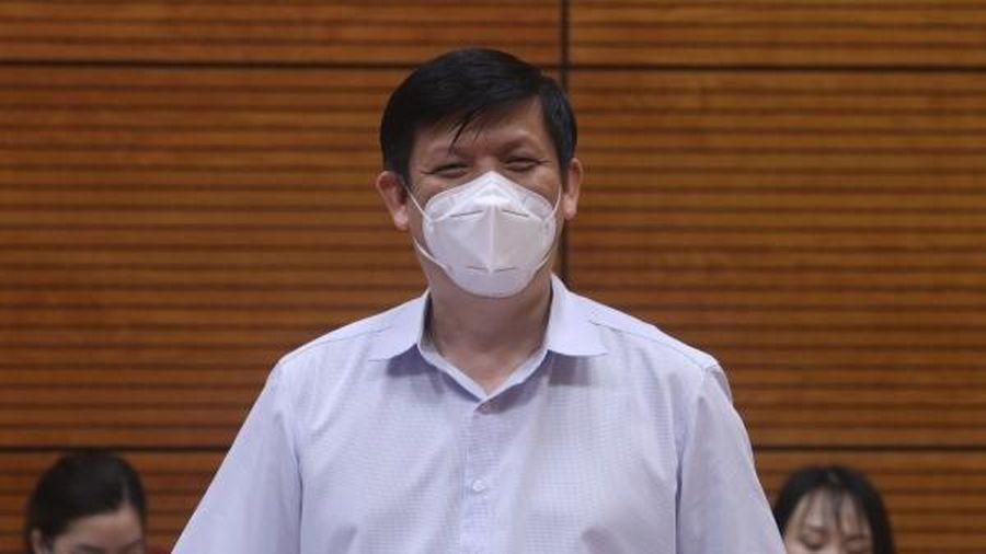 Bộ trưởng Nguyễn Thanh Long: Bắc Ninh phải đặt các khu công nghiệp ở tình trạng báo động trong phòng, chống dịch COVID-19