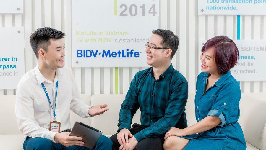 BIDV MetLife tặng quà khởi động chương trình chào hè