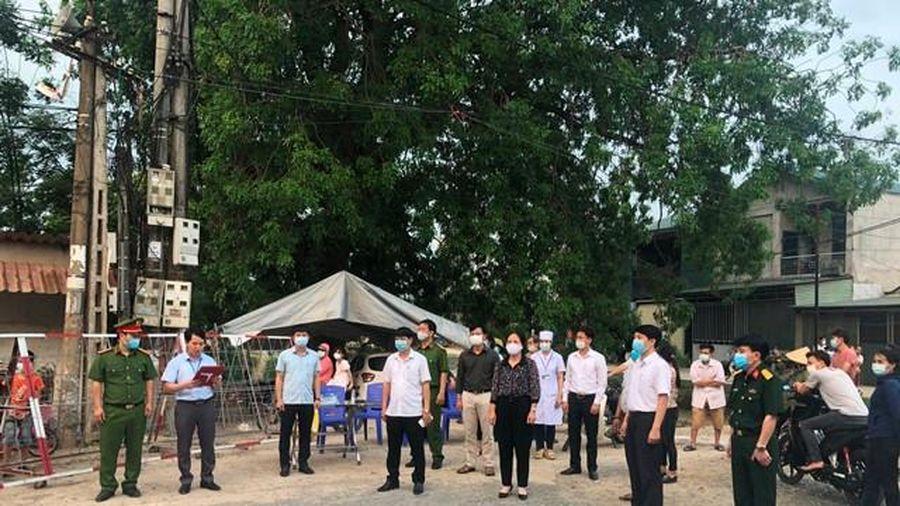 Vĩnh Phúc: Dỡ chốt kiểm soát dịch COVID-19 ở 2 thôn tại huyện Yên Lạc, Bình Xuyên