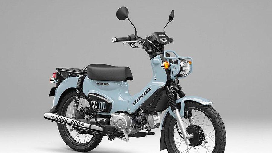 Honda Cross Cub 110 2021 phiên bản giới hạn, giá hơn 72 triệu đồng