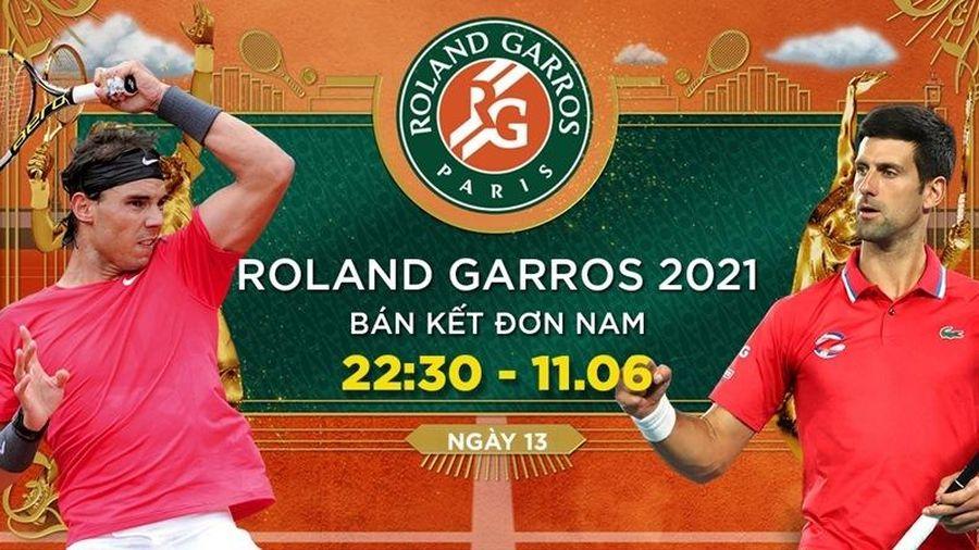 Trực tiếp Nadal vs Djokovic: Long hổ tranh hùng