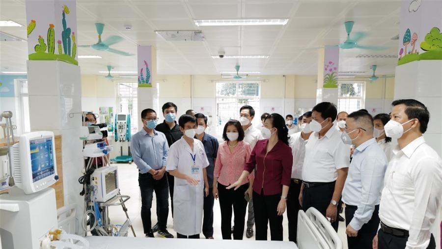Chính thức hoạt động Trung tâm Hồi sức tích cực cho Bắc Ninh