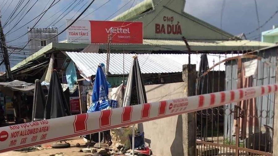 Tiền Giang phong tỏa chợ Ba Dừa vì ca nghi mắc Covid-19