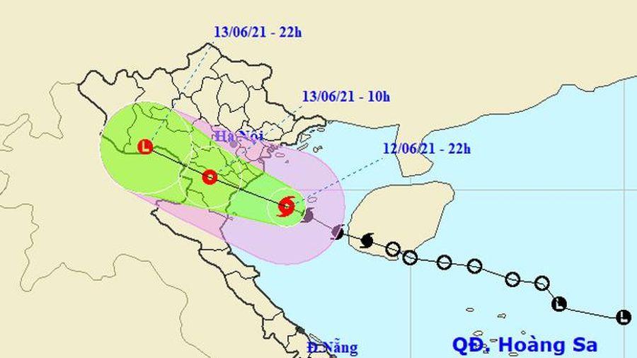 Bão số 2 sắp đổ bộ vào các tỉnh từ Hải Phòng đến Nghệ An, nhiều nơi mưa lớn