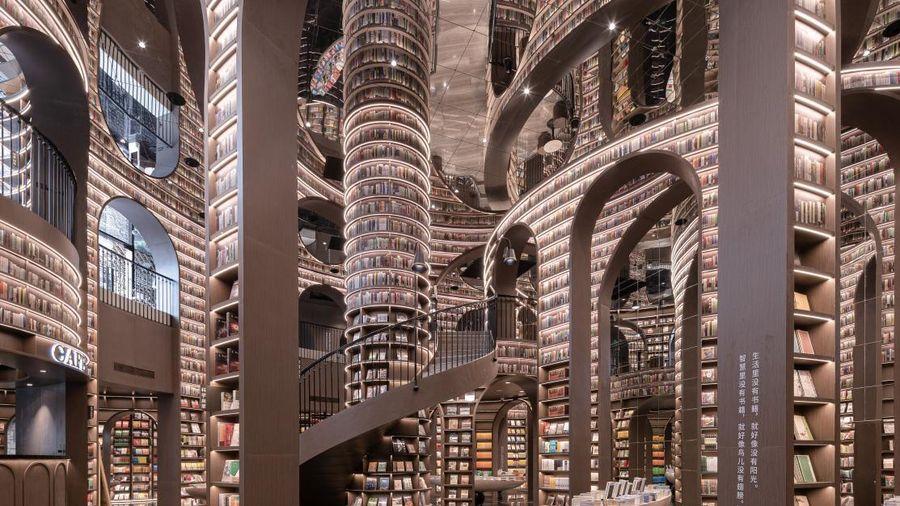 Kiến trúc độc lạ như tòa lâu đài bên trong thư viện sách đẹp nhất thế giới