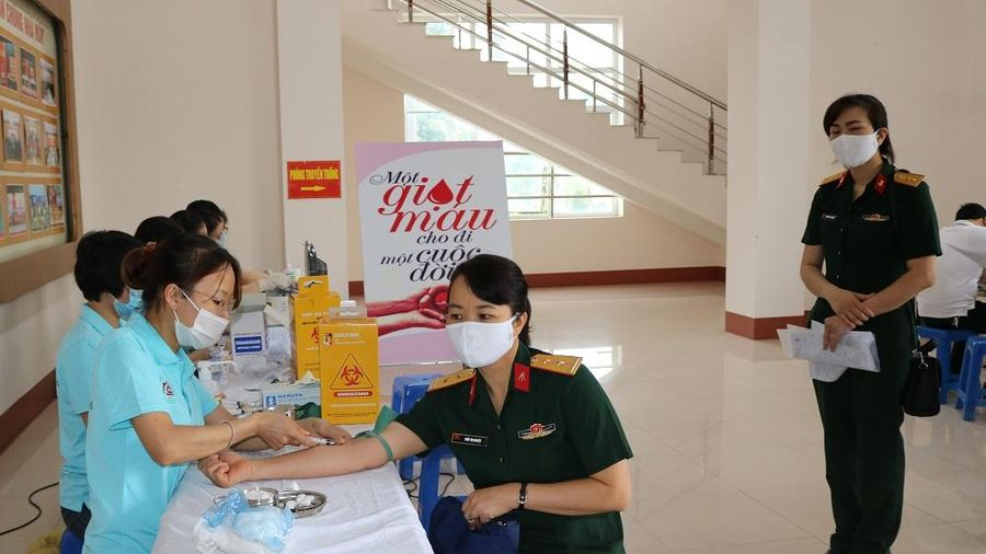 Nhà máy Z115 tổ chức Ngày hội hiến máu nhân đạo 'Kết nối tình yêu thương'