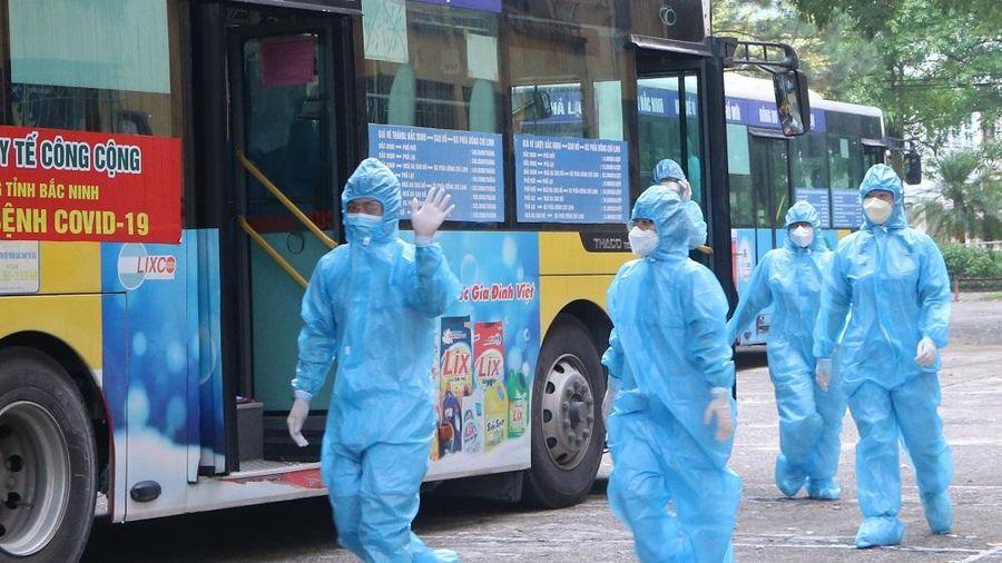 Thái Nguyên: Đoàn học viên, sinh viên y dược hoàn thành đợt hỗ trợ Bắc Ninh chống dịch