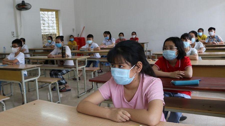 TP. Thái Nguyên: Hơn nghìn HS được đánh giá năng lực, dự tuyển vào lớp 6