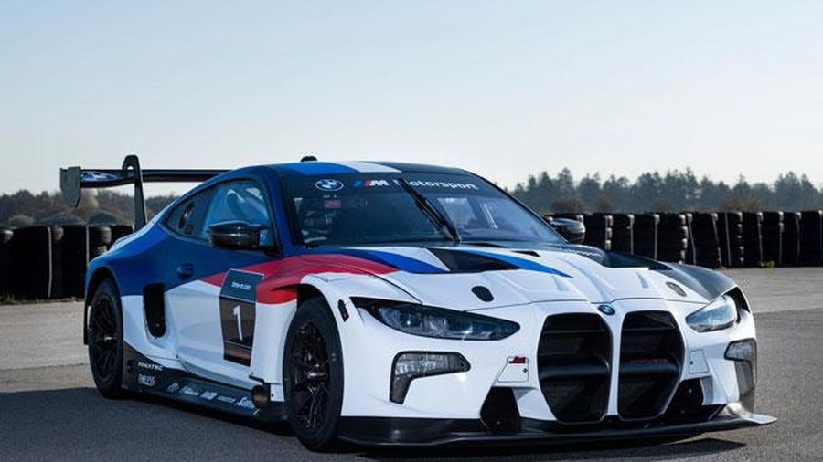 Cận cảnh xe thể thao BMW M4 GT3 2021, giá từ 530.000 USD