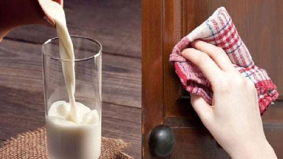 Uống sữa thừa đừng vội đổ đi, làm theo cách này mẹ chồng khó tính mấy cũng phải trầm trồ