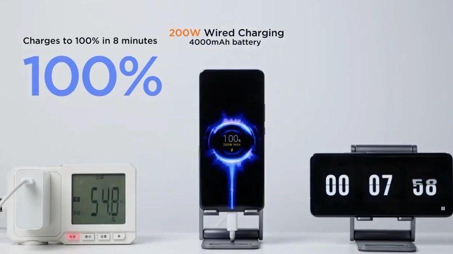 Điện thoại sẽ ra sao nếu sạc ở công suất 200 W?