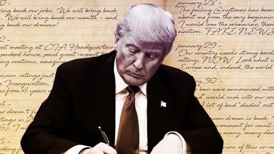 Ông Trump nói đang 'viết điên cuồng' để tạo ra cuốn sách để đời