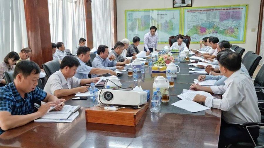 SPMB làm việc lãnh đạo các địa phương đẩy nhanh tiến độ các dự án trọng điểm