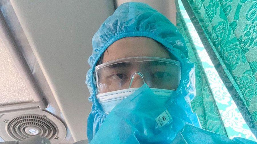 Phú Bình: Đón 20 công nhân hoàn thành cách ly y tế tập trung về địa phương