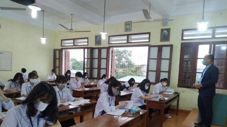 Từ 14/6, học sinh khối 12 ở Hải Phòng trở lại trường, chuẩn bị cho kỳ thi tốt nghiệp THPT
