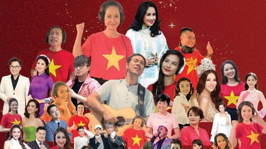 50 nghệ sĩ hòa giọng trong MV 'Sức mạnh Việt Nam'
