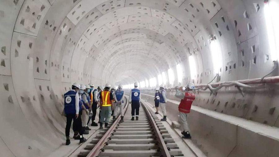 Liên danh xây dựng tuyến metro số 1 nhận giải thưởng của Hiệp hội Xây dựng Nhật Bản
