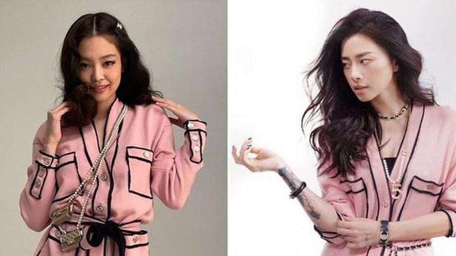 Đụng hàng trang phục lẫn phụ kiện, Ngô Thanh Vân liệu có lấn át 'nàng thơ Chanel' Jennie?