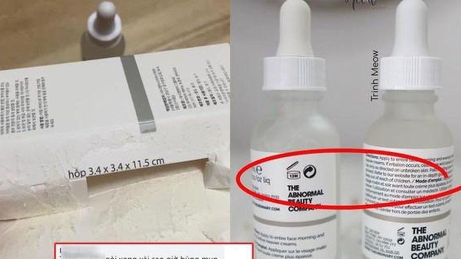 'Phốt' serum The Ordinary bản Hàn lại có tiếng Việt: Netizen than thở bảo sao bị bùng mụn!
