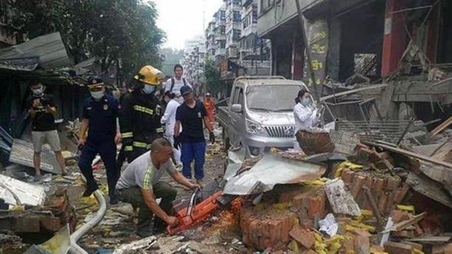 Nổ khí gas tại Trung Quốc, 11 người chết