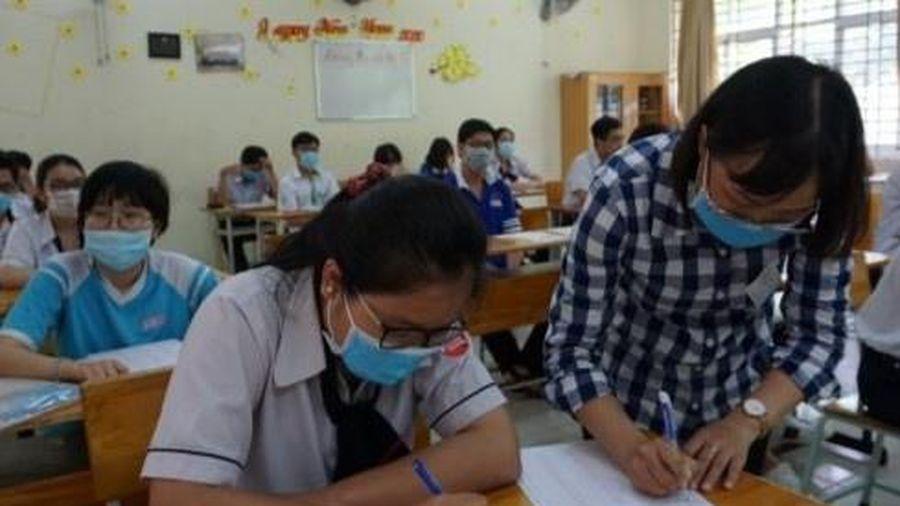 Bảo đảm phòng dịch, tạo thuận lợi cho thí sinh thi tốt nghiệp THPT