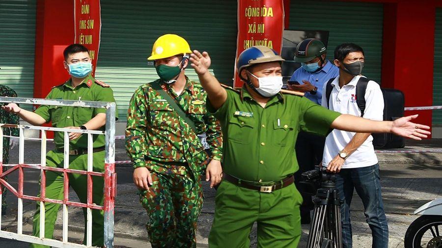 Huyện Cái Bè và thị xã Cai Lậy giãn cách xã hội theo Chỉ thị 16