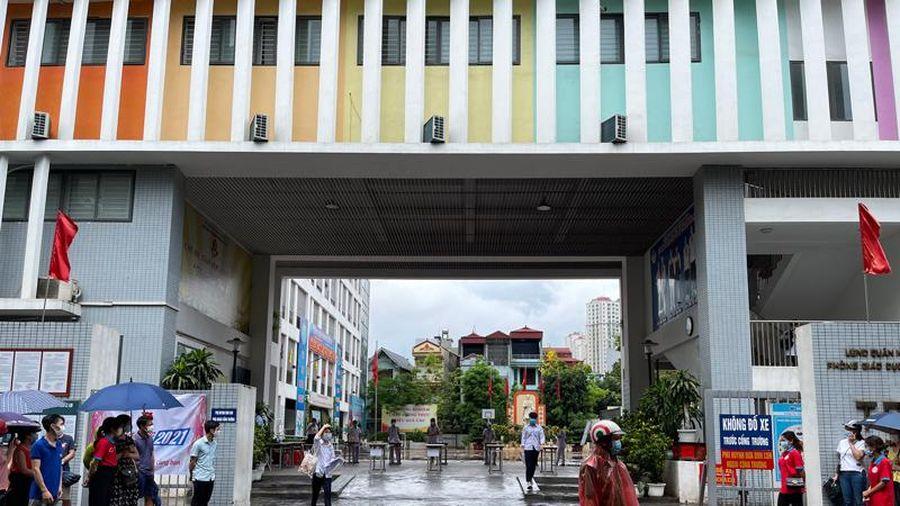 Hà Đông tổ chức thành công kỳ thi vào lớp 10 công lập năm học 2021 - 2022