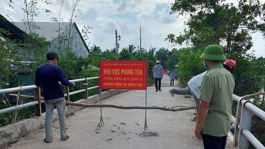Tiền Giang: Giãn cách xã hội thị xã Cai Lậy và huyện Cái Bè