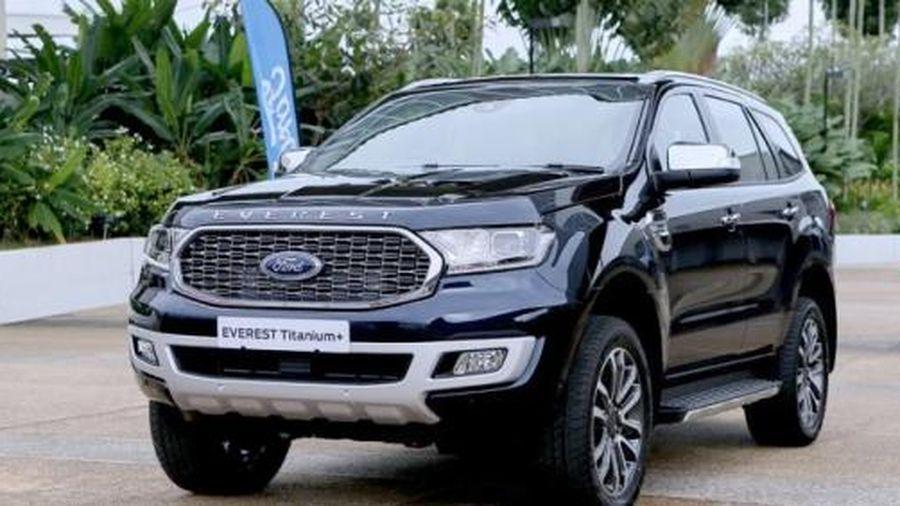 Ford đứng đầu doanh số cả phân khúc SUV và bán tải tháng 5/2021