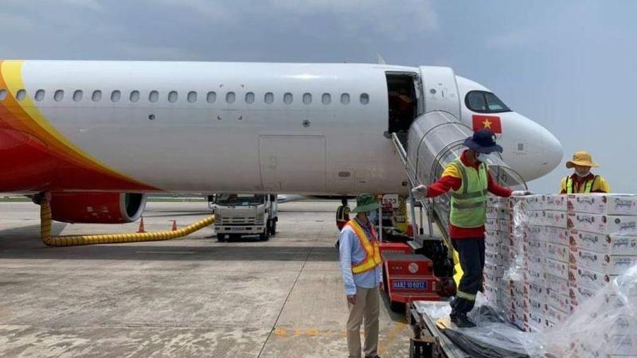 Vietjet Air đưa vải thiều Bắc Giang xuất ngoại