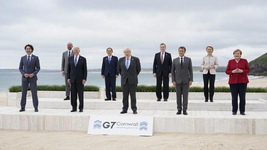 G7 công bố các nỗ lực toàn cầu để xây dựng lại tốt đẹp hơn