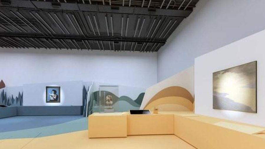 Mở cửa trở lại bảo tàng thiếu nhi ở Louvre Abu Dhabi