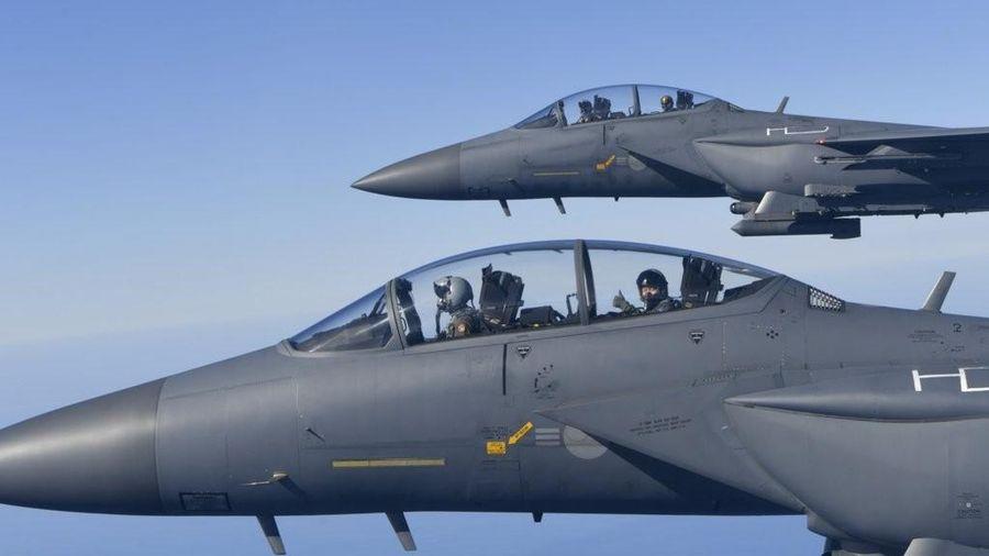 Hàn Quốc tham gia cuộc tập trận không quân 'Cờ Đỏ' của Mỹ, Nhật Bản