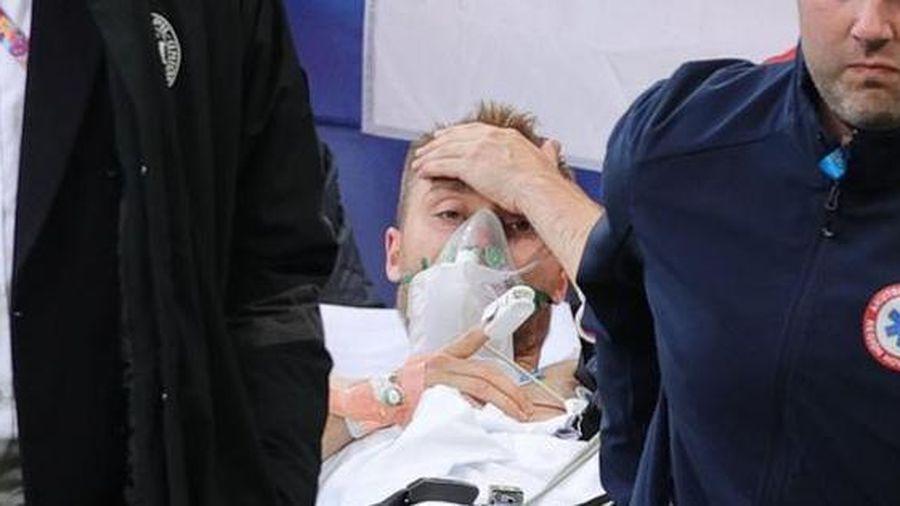 Đang đá, tiền vệ Christian Eriksen bất tỉnh ngay trên sân, trận Đan Mạch - Phần Lan phải tạm hoãn
