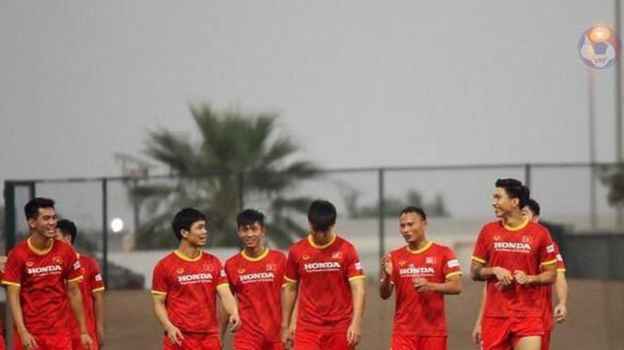 Quang Hải sẵn sàng cho trận đấu với UAE