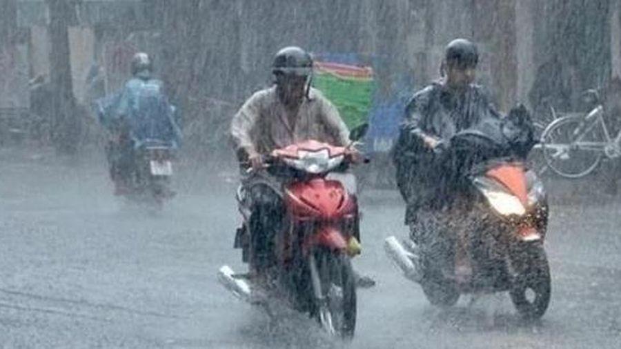 Sau bão, nhiều tỉnh từ Bắc Bộ đến Hà Tĩnh còn mưa vừa, mưa to