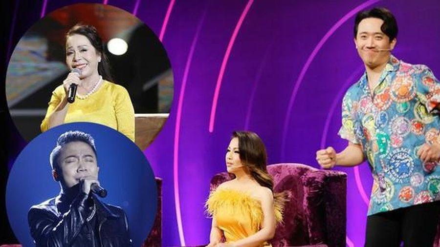 Trấn Thành, Minh Tuyết ngỡ ngàng với màn trình diễn của 'bản sao Khánh Ly và Tuấn Hưng'