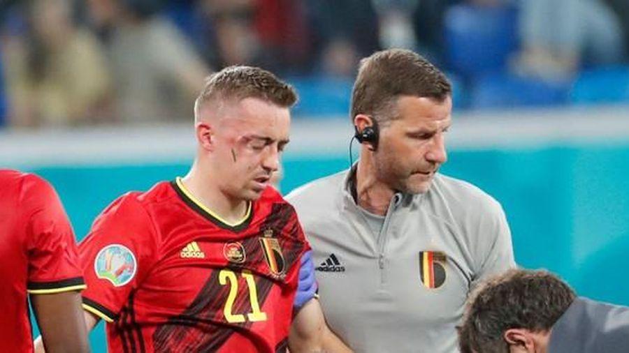 Ngôi sao đội tuyển Bỉ bị vỡ hốc mắt, chính thức chia tay EURO 2020