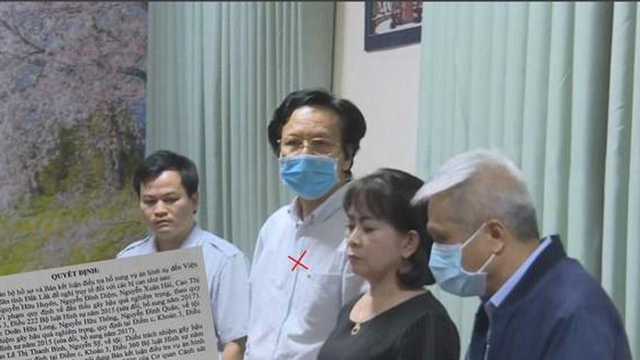 Nguyên Giám đốc Sở Y tế Đắk Lắk Doãn Hữu Long và 11 thuộc cấp sắp hầu tòa