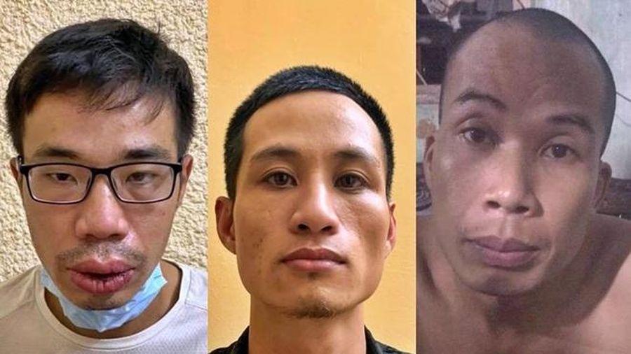 Chân tướng nhóm cướp giật điện thoại của nam shipper ở khu đô thị Thanh Hà