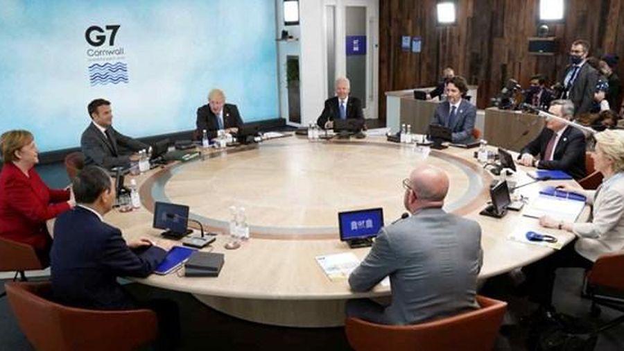 G7 ra sáng kiến đối trọng 'Vành đai và Con đường' của Trung Quốc
