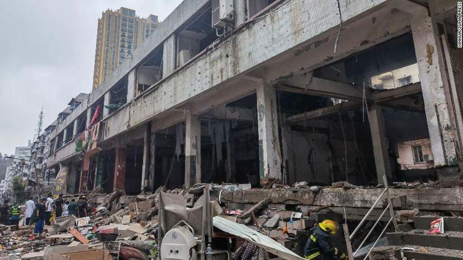 Trung Quốc: Nổ khí gas làm ít nhất gần 50 người thương vong