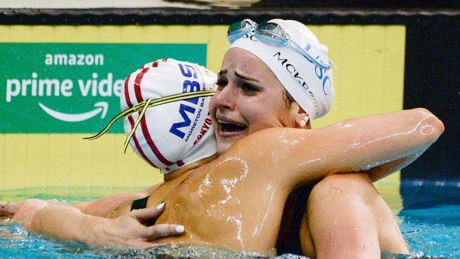 Nữ kình ngư Australia McKeown phá kỷ lục thế giới 100m bơi ngửa nữ