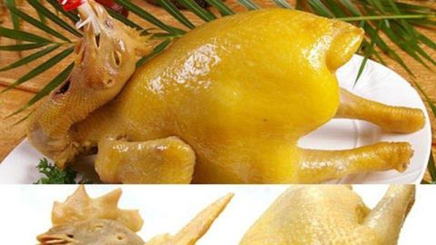 Gà 'ăn' chất vàng ô gây ung thư: Quá dễ để phân biệt