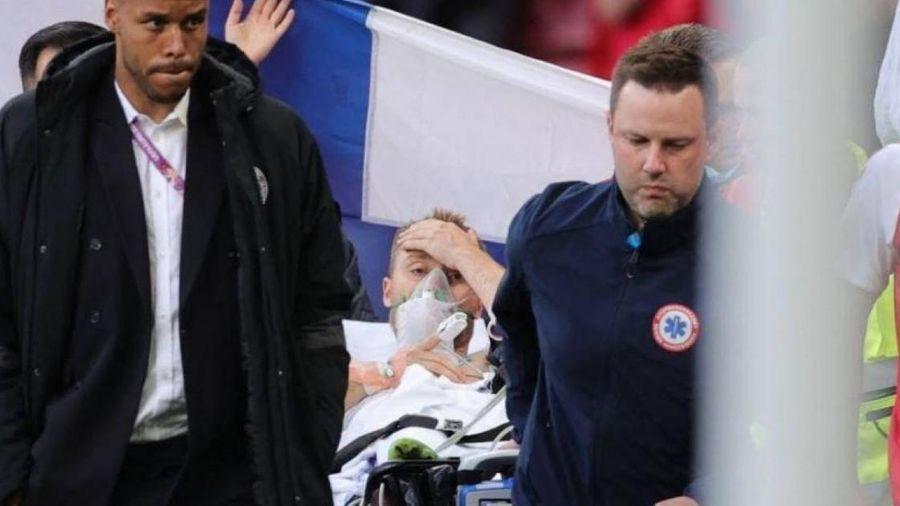 EURO 2020: Eriksen đã tỉnh lại sau đột quỵ, hoãn trận Đan Mạch gặp Phần Lan