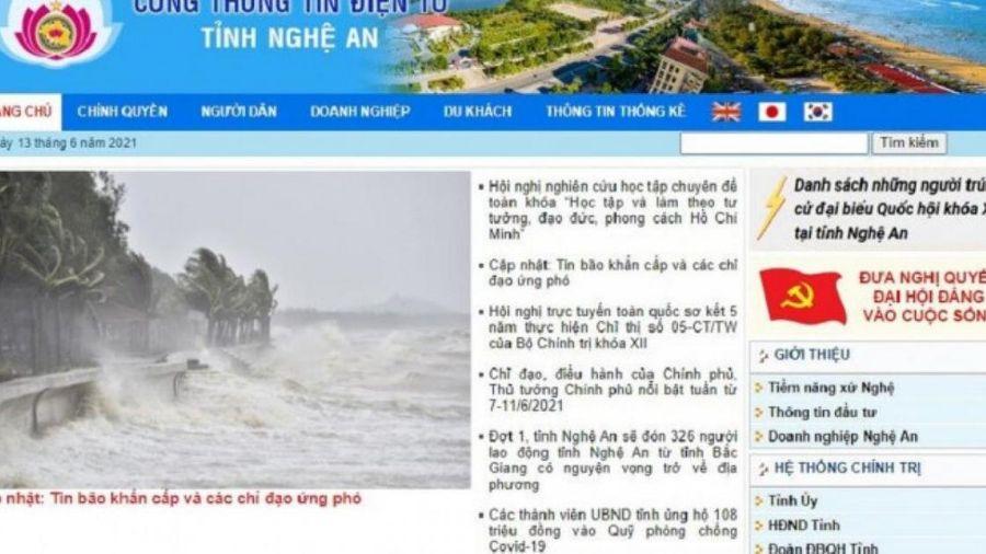 Nghệ An: Xây dựng chính quyền điện tử bằng cổng thông tin 'rùa bò'